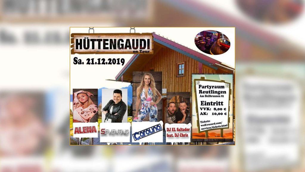Hüttengaudi on Tour Startag Berni Krause unterwegs